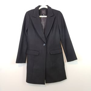 LIKE NEW Forever 21 Wool Single Breasted Coat